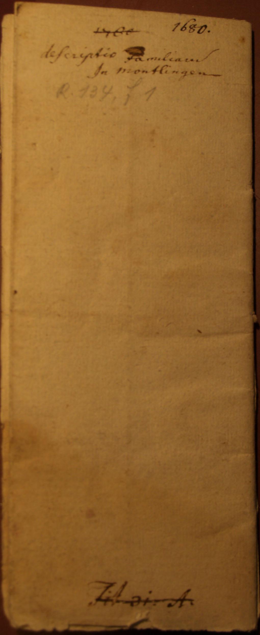Familienbuch Montlingen, Seite 70