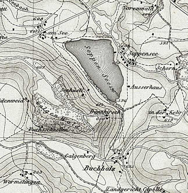 Soppensee-Karte