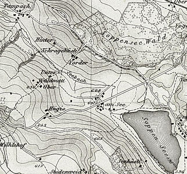 Dambach und Soppenseewald
