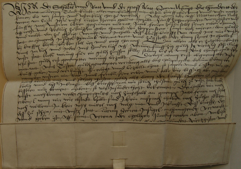 Soppensee und Soppenseewald 1546
