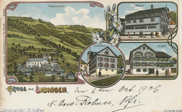 Schäfli in Libingen