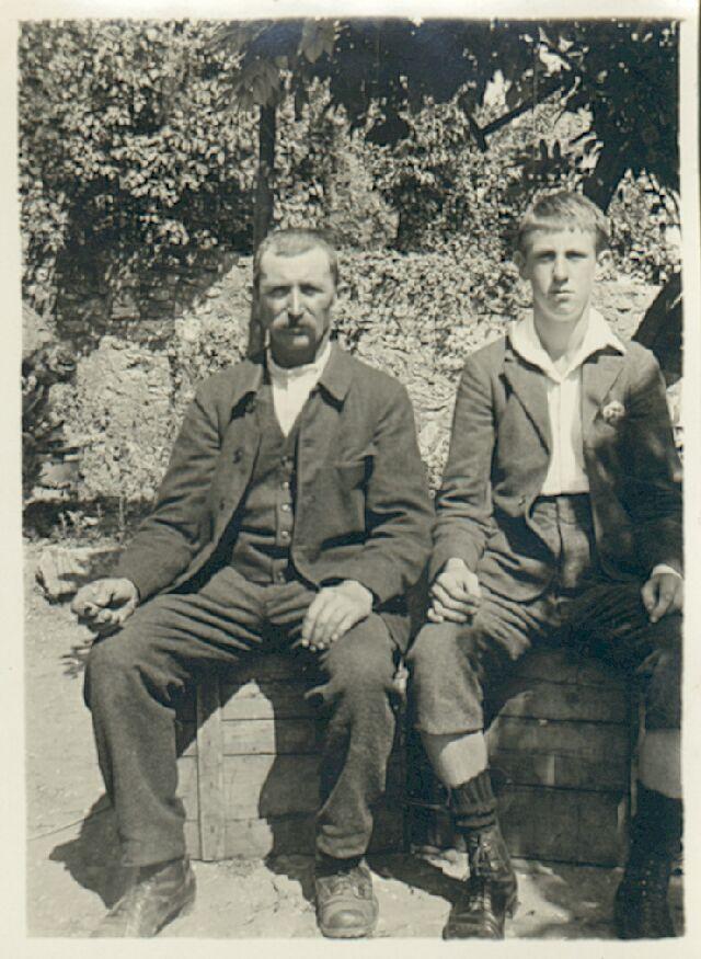 Emile Ribaux et Marcel Ribaux