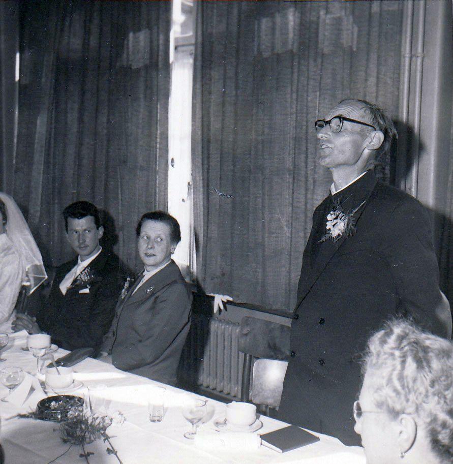 Hochzeit Sepp Fischer und Pia (1959)
