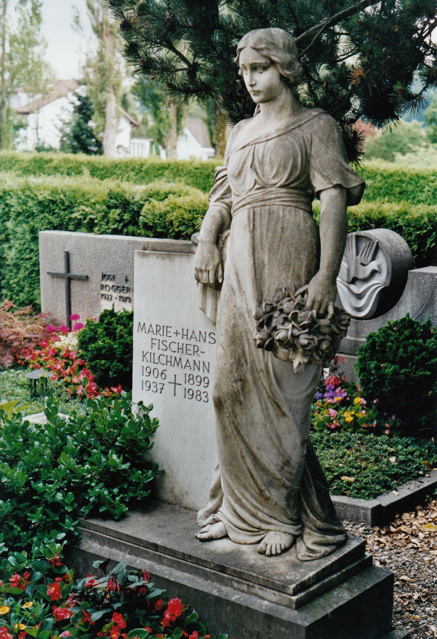 Grab Marie und Hans Fischer-Kilchmann
