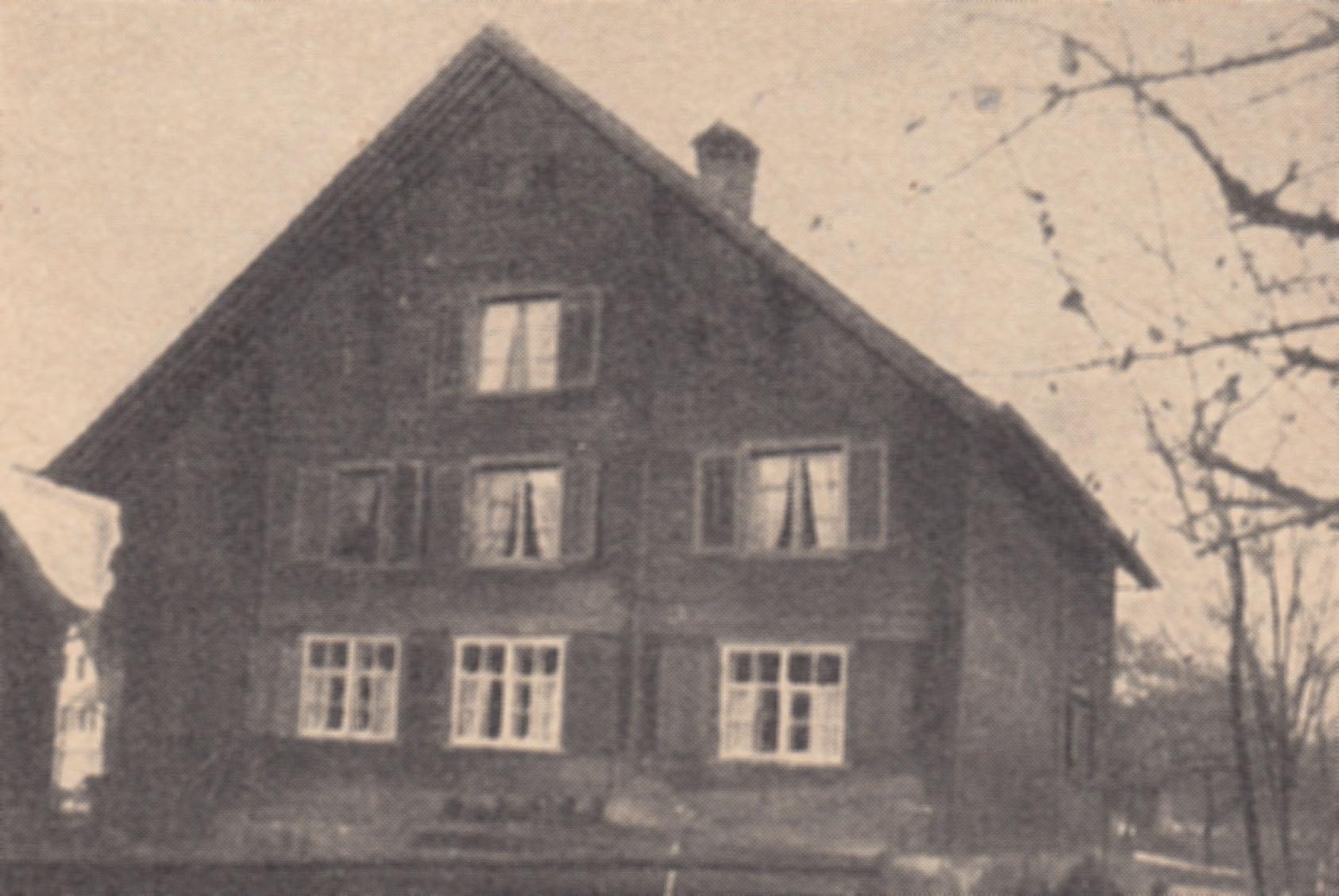 Haus 'Platz' in Montlingen