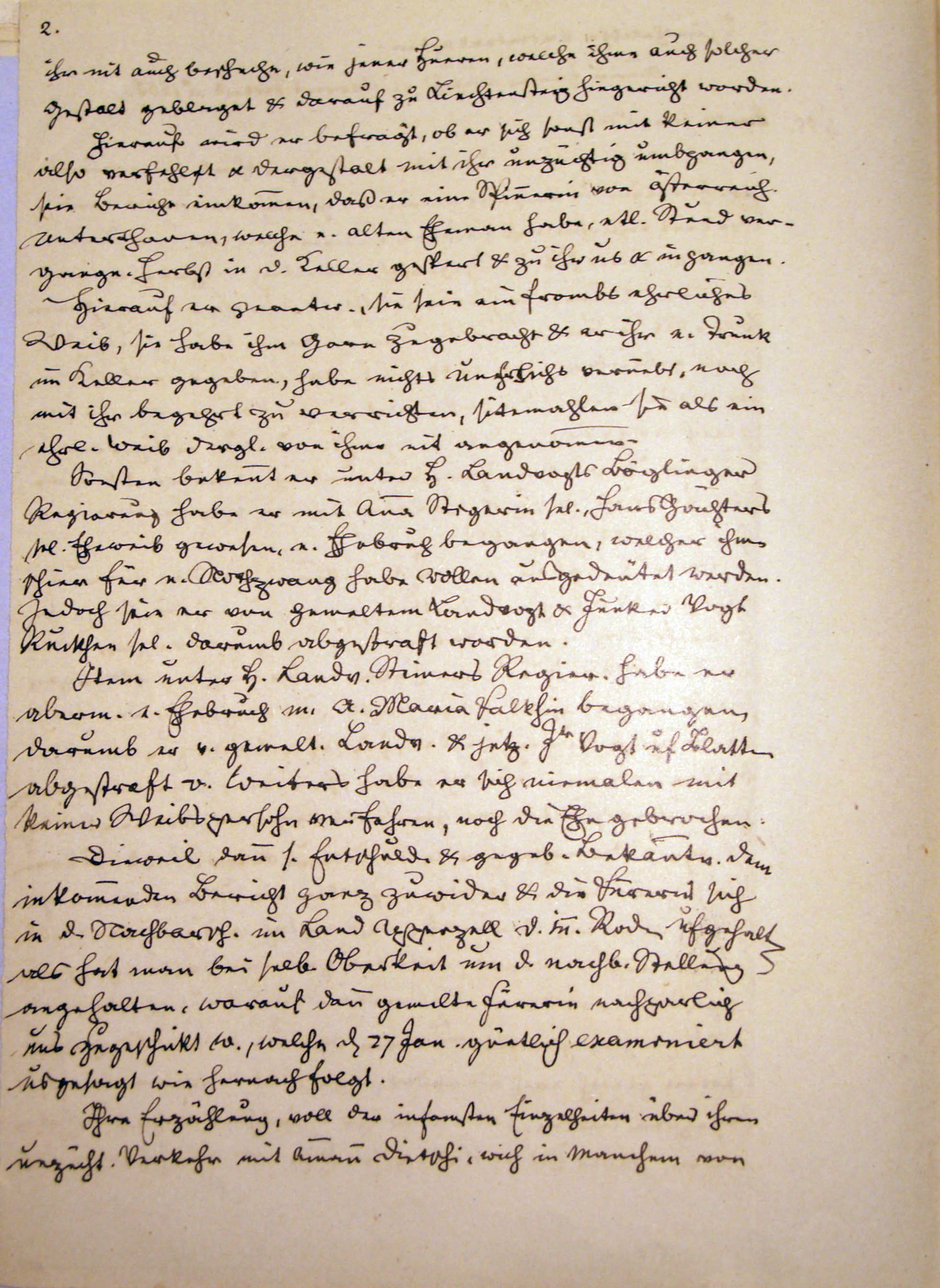 Malefizgericht Amman Hans Dietschi (1655) p. 2
