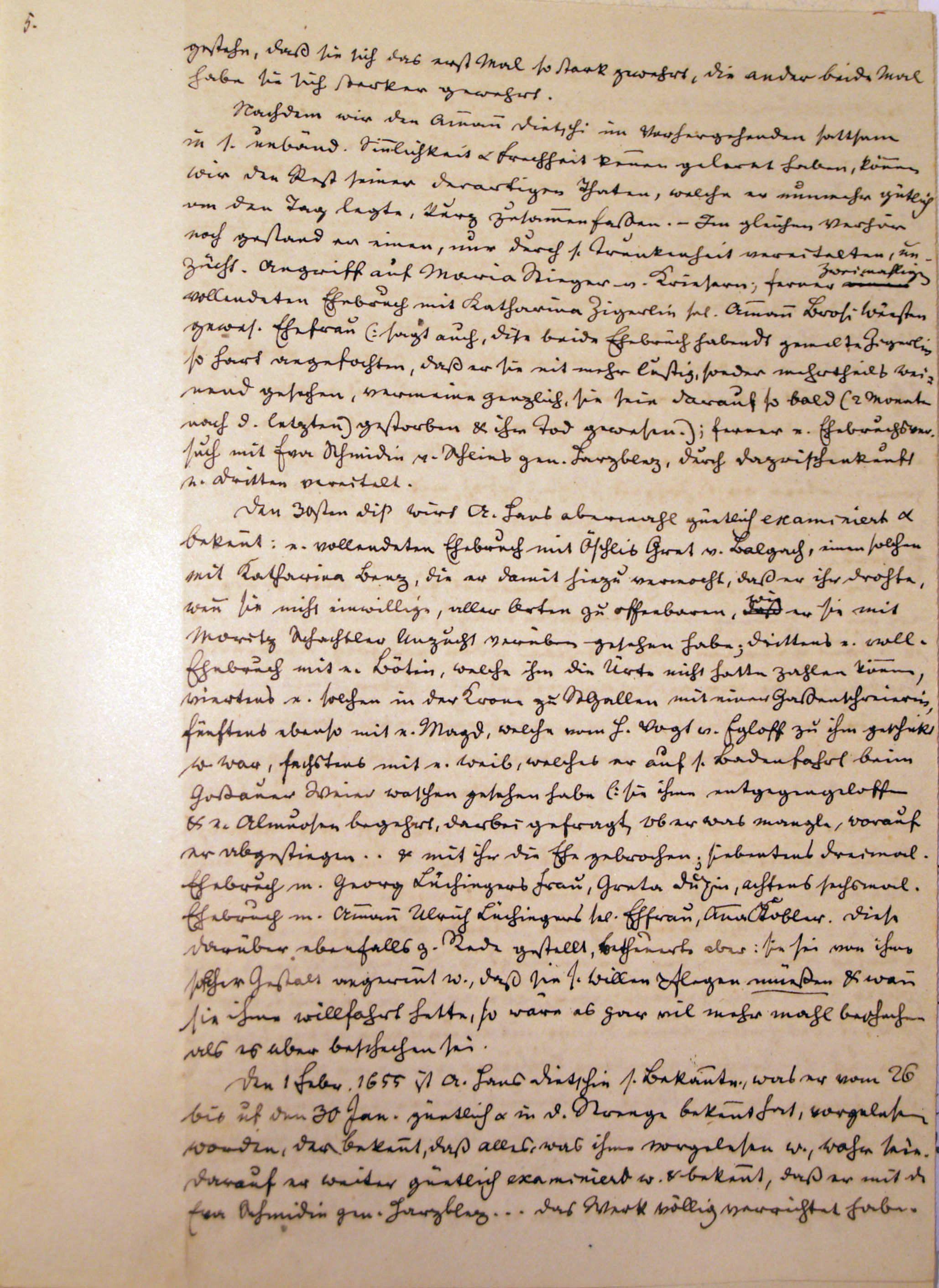 Malefizgericht Amman Hans Dietschi (1655) p. 5