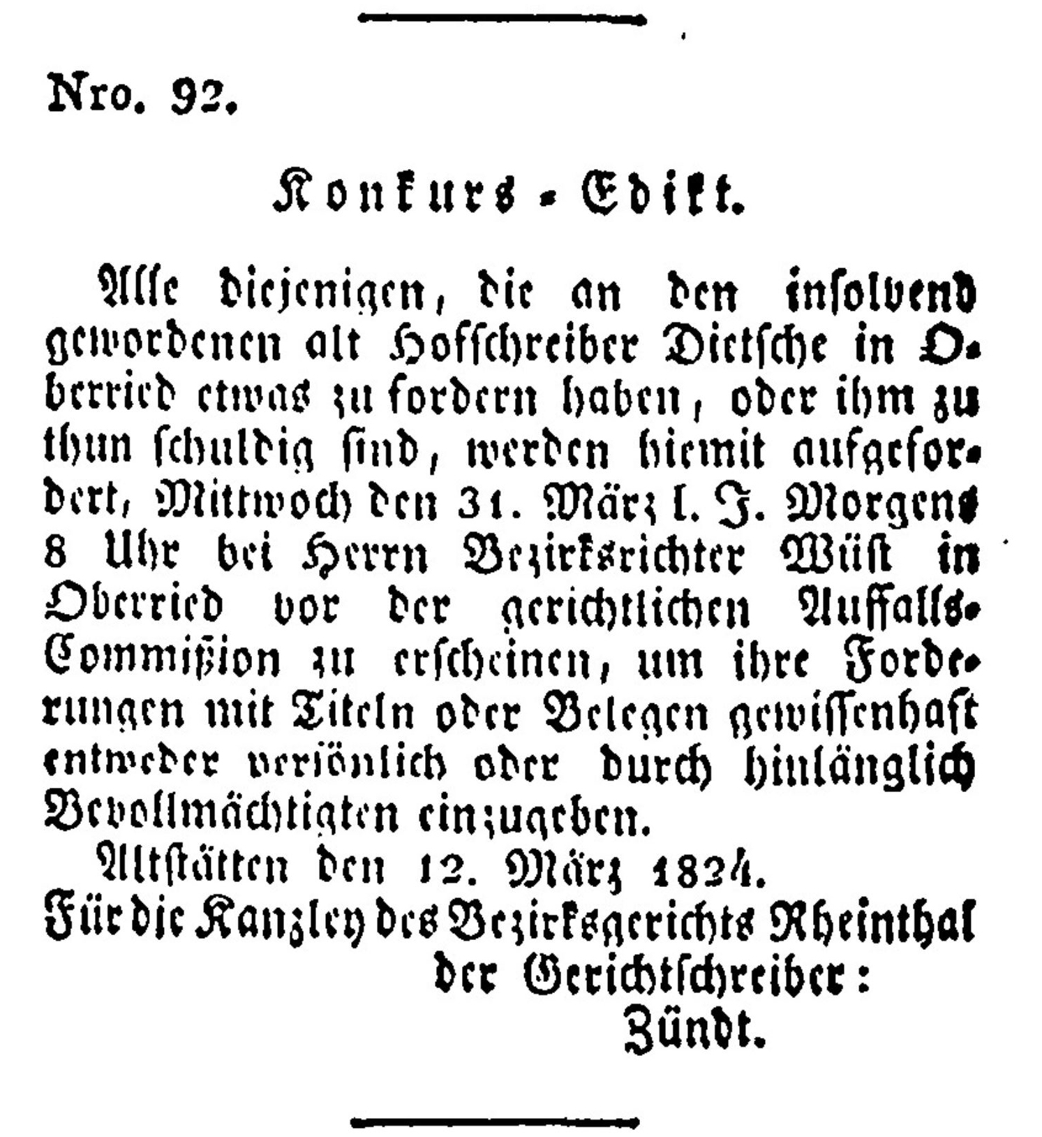 Ulrich Dietschi (1751-1834)