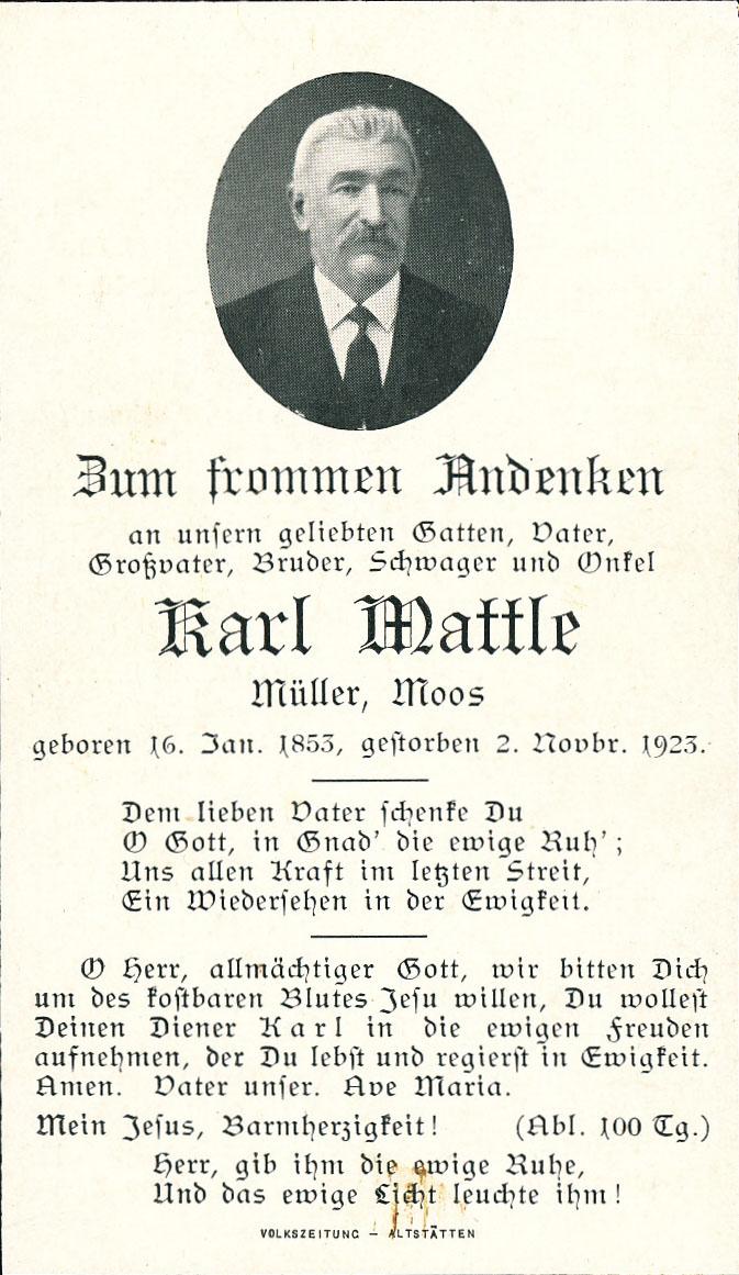 Karl Mattle (1853-1923)