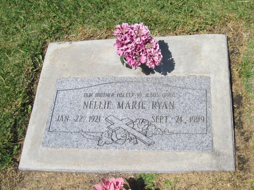 Nellie Marie Ryan-Stieger (1921-1999)