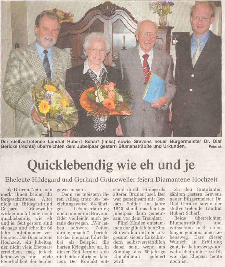Hilgegart und Gerhard Grüneweller