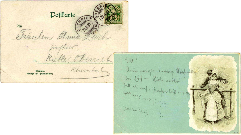 Anna Zäch Zieglers (1903)