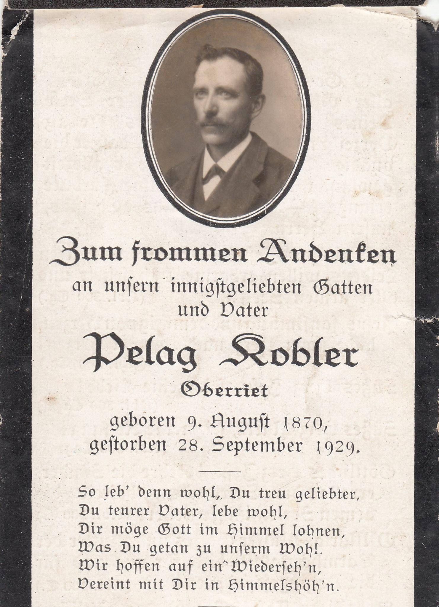 Pelag Kobler (1870-1929)