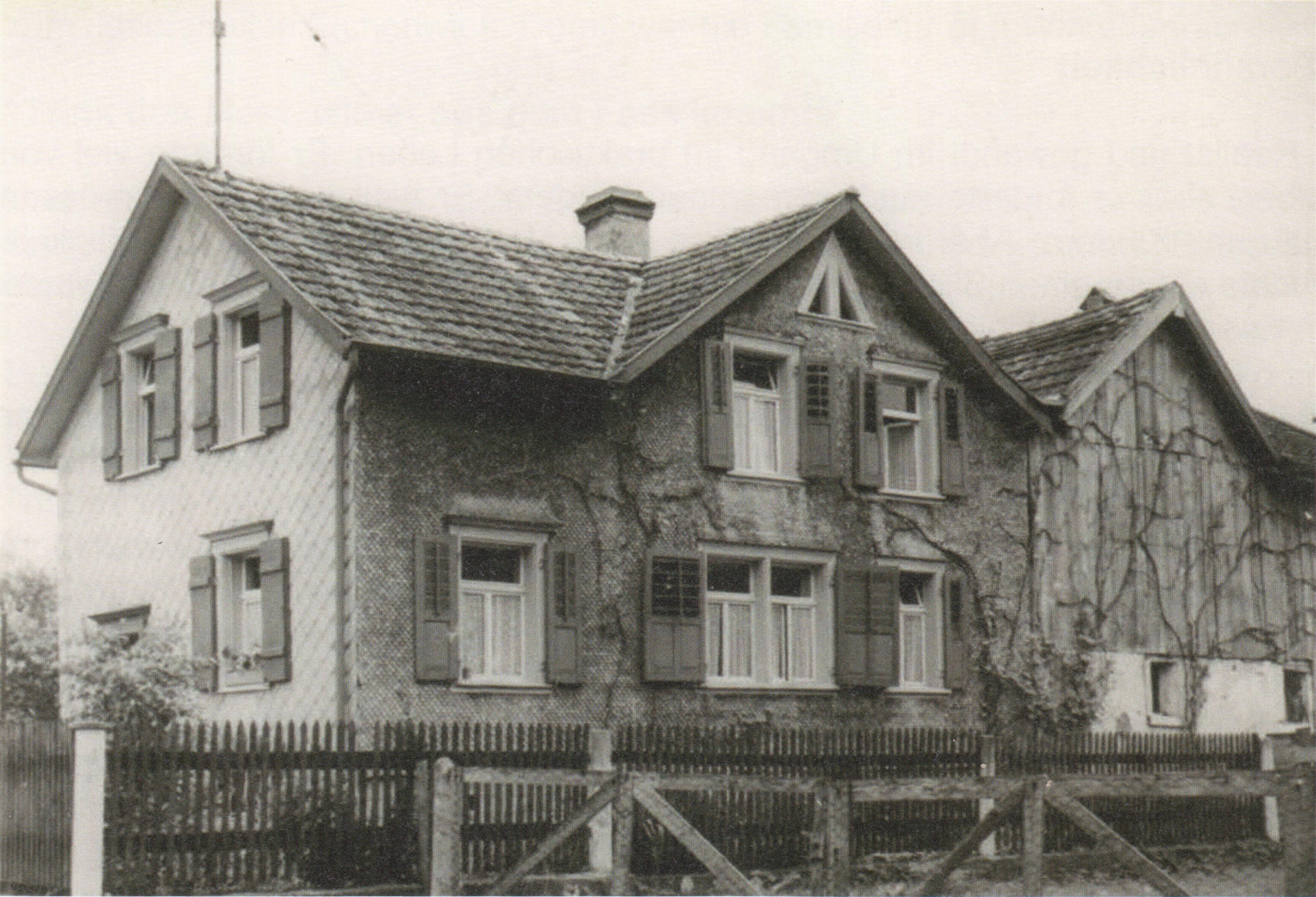 Haus aus Rheinholz