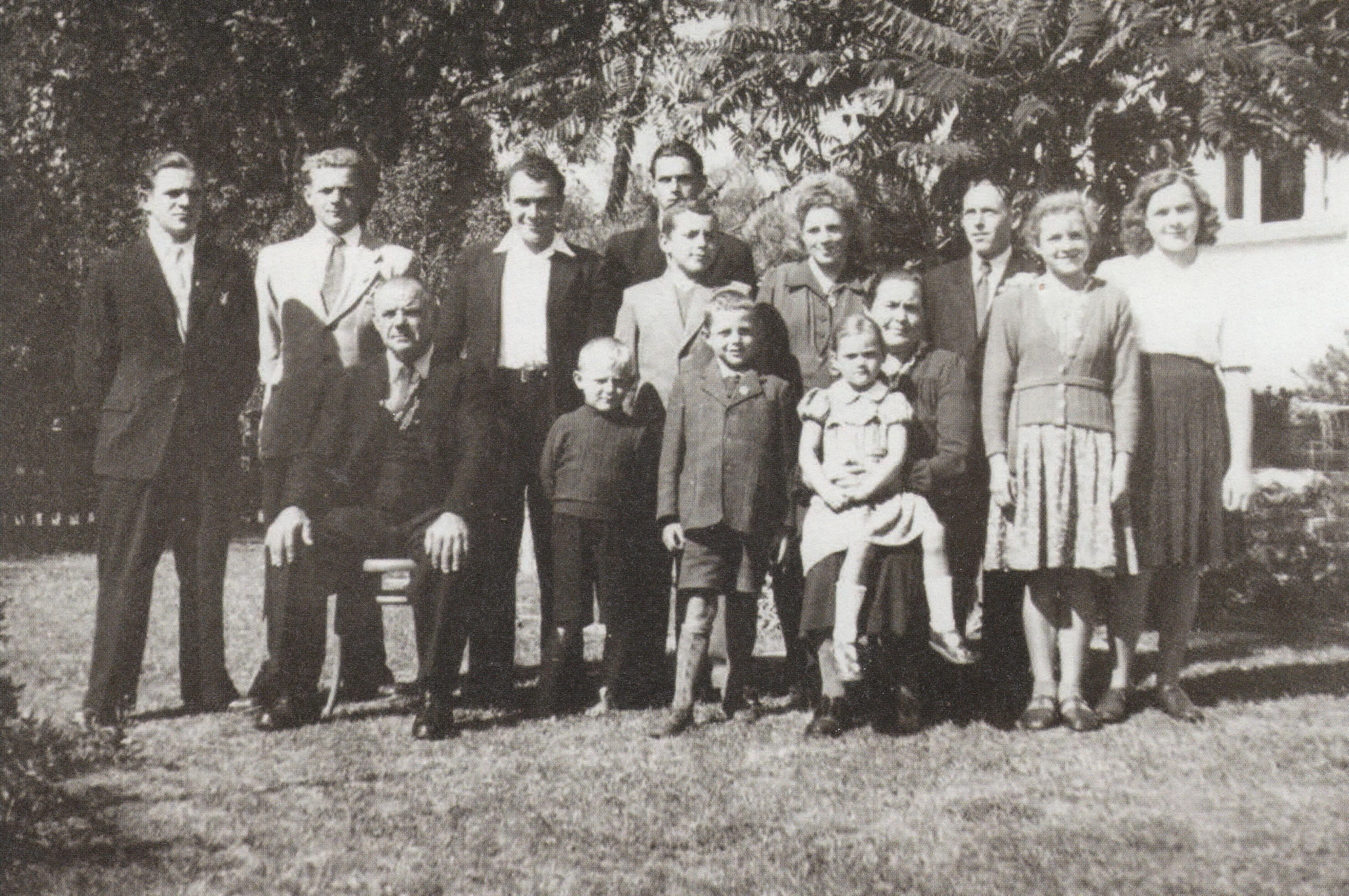 Familie des Emil Wüst-Herrsche (1890-1976)
