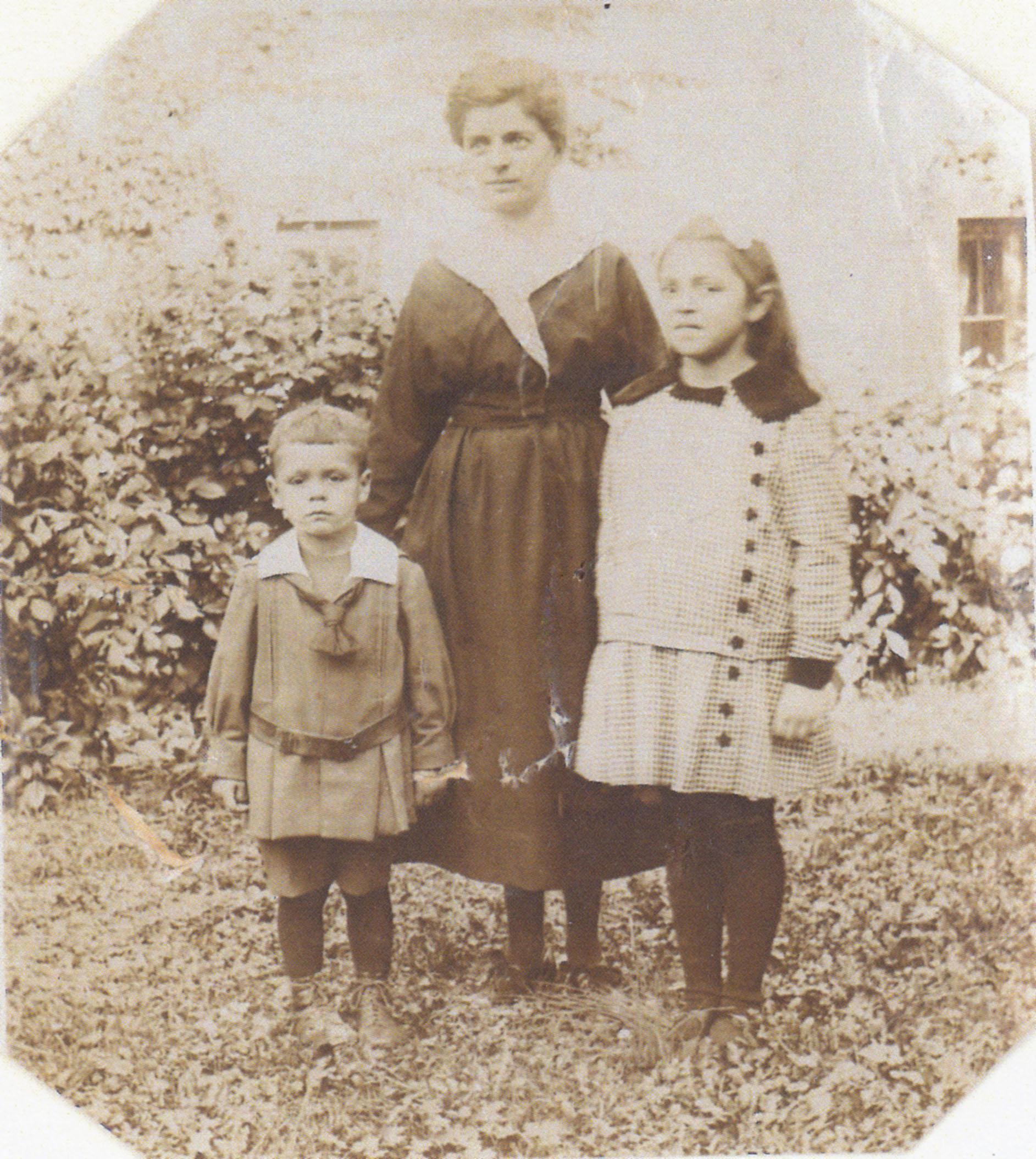 Cecile, François und Gabrielle