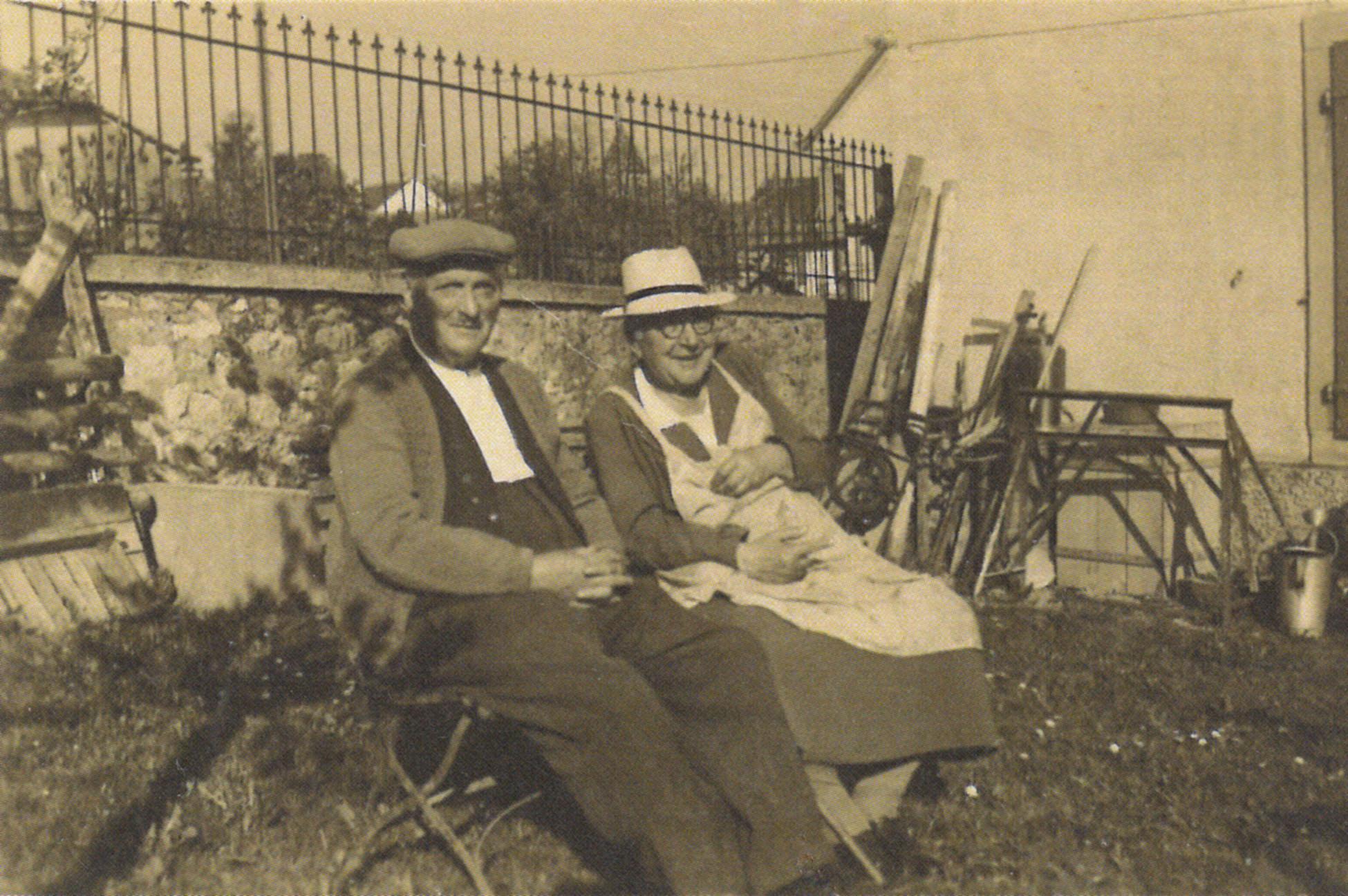 Arthur Gern und Louisa Ribaux