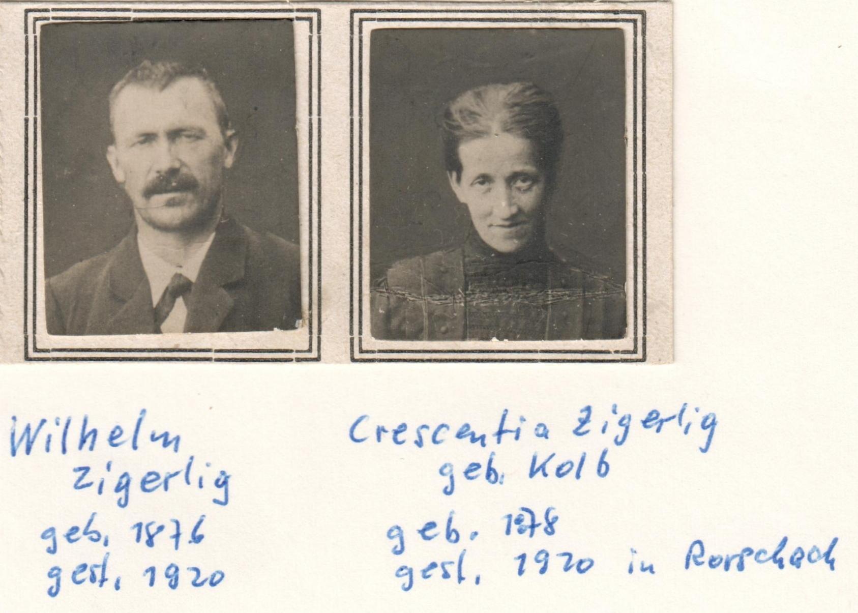 Wilhelm Zigerlig (1874-1920)