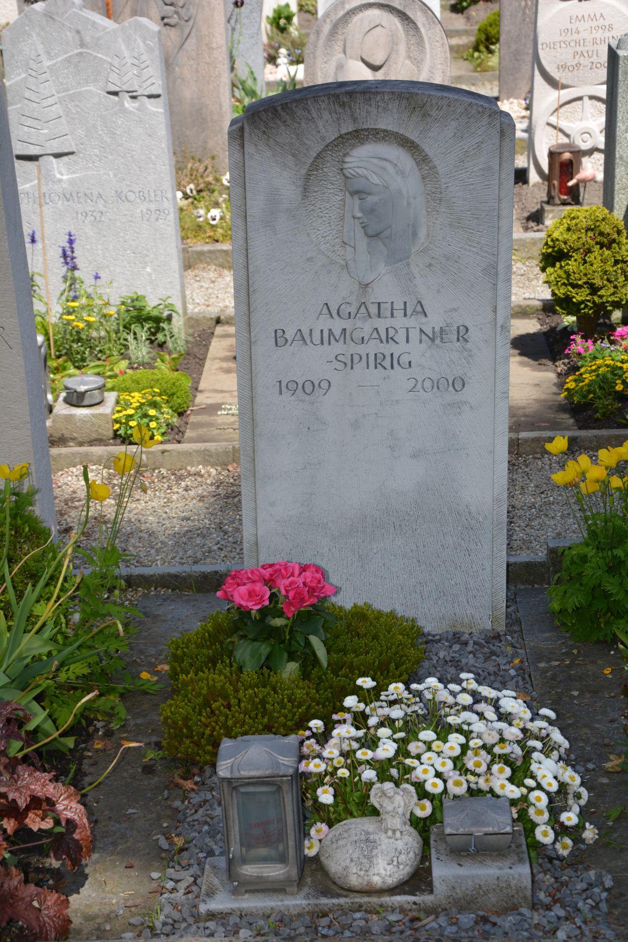 Agatha Baumgartner-Spirig 1909-2000