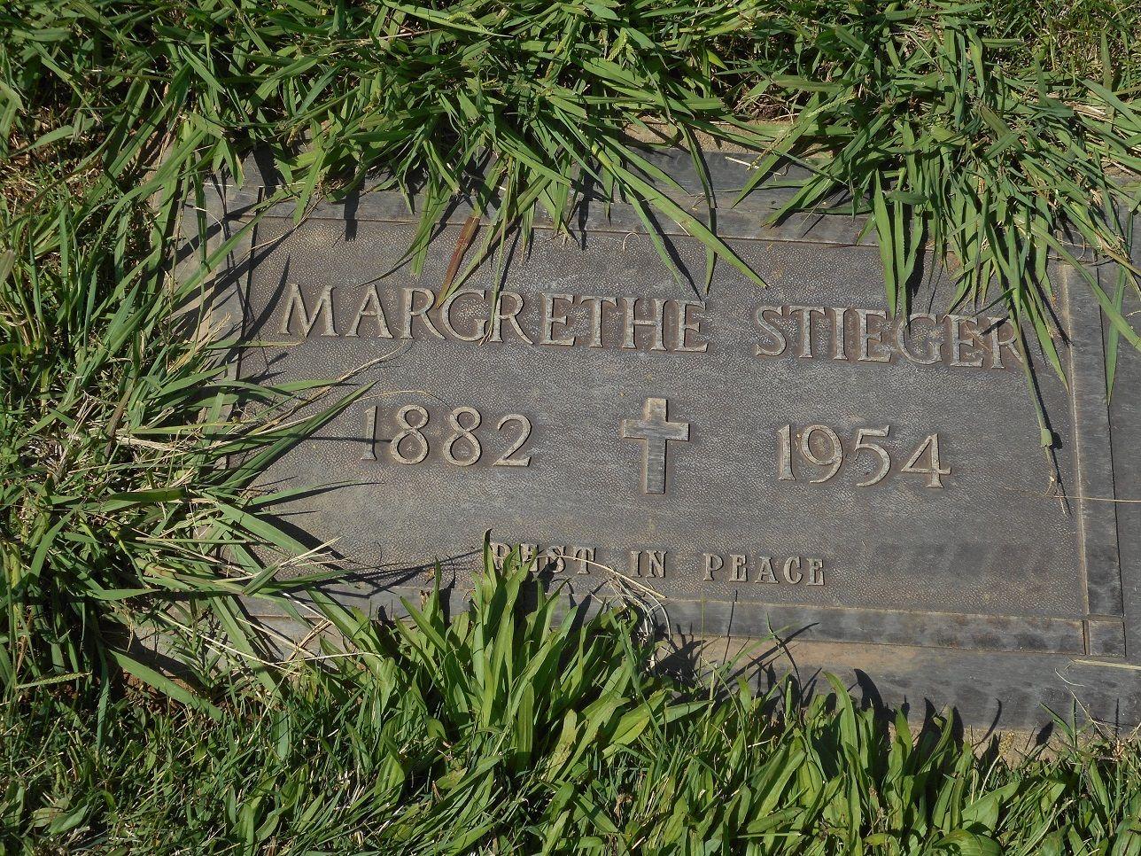 Margrethe Stieger (1882-1954)