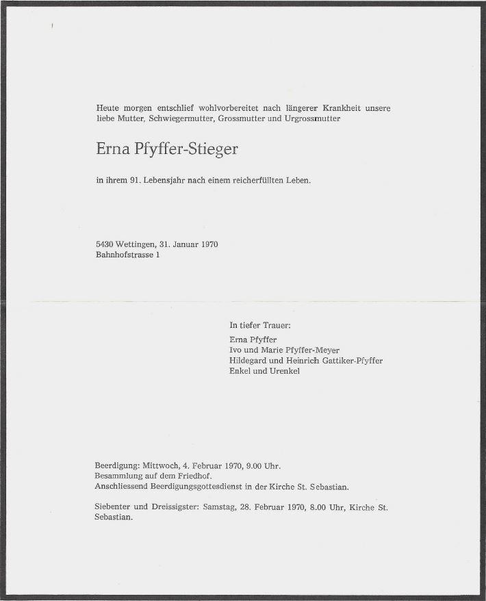 Erna Pfyffer-Stieger