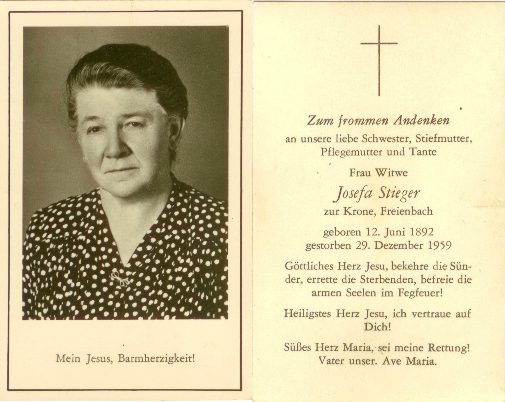 Josefa Stieger (1892-1959)