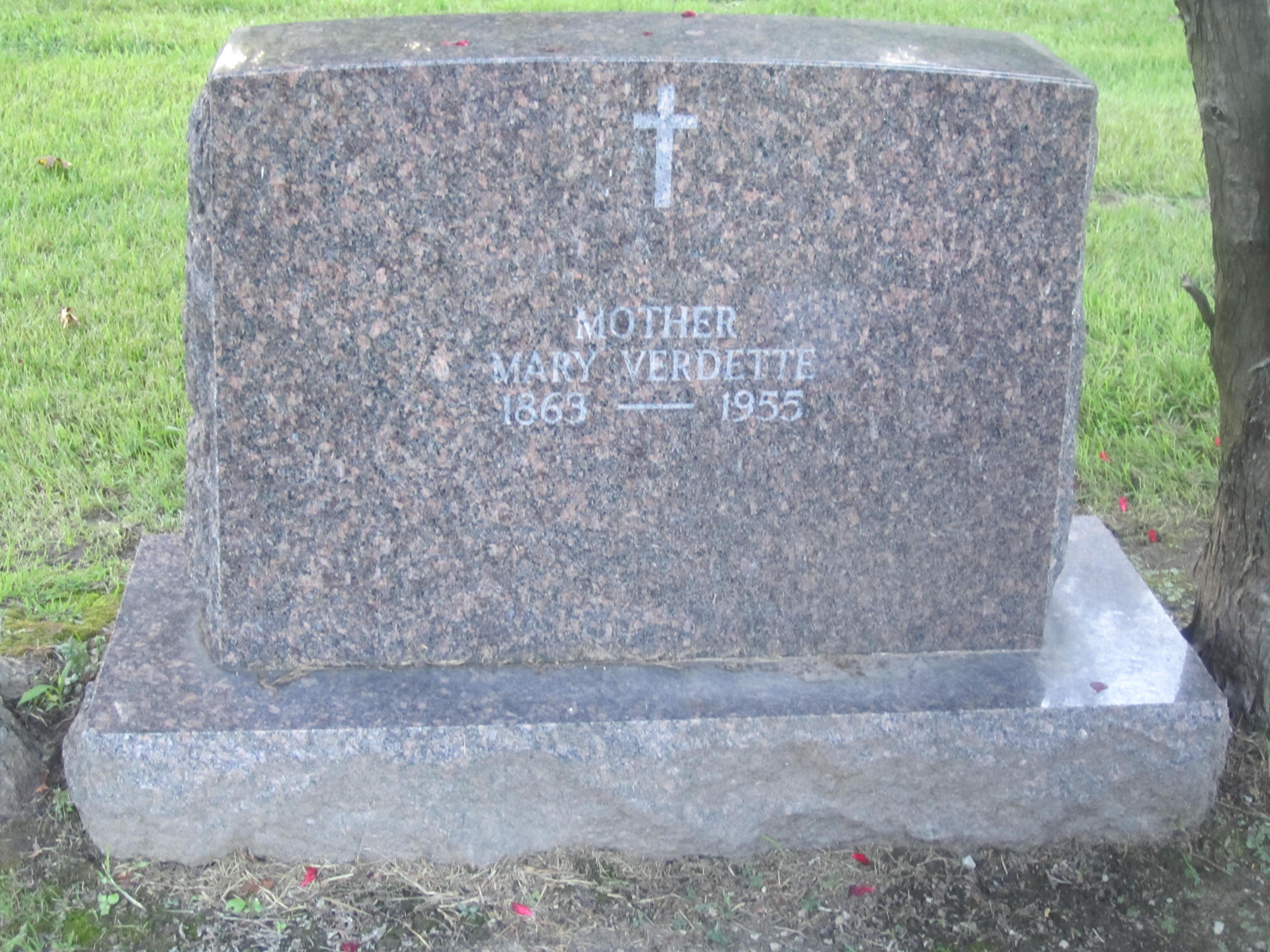 Mary Verdette-Stieger (1863-1955)