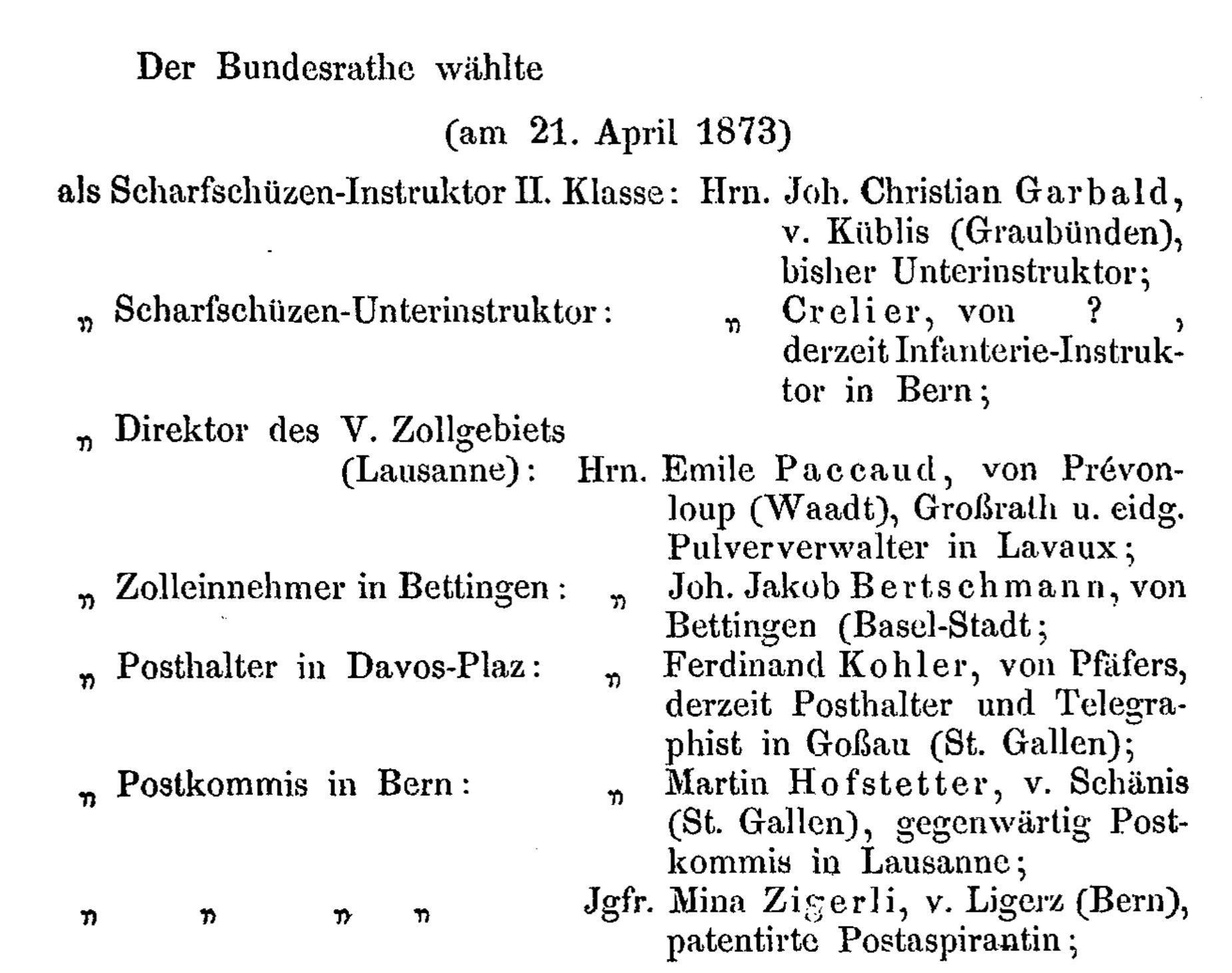 Ferdinand Kohler von Pfäfers