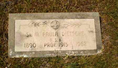 Sister Mary Paula Dietsche (1890-1962)