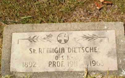Sister M. Remigia Dietsche (1892-1963)