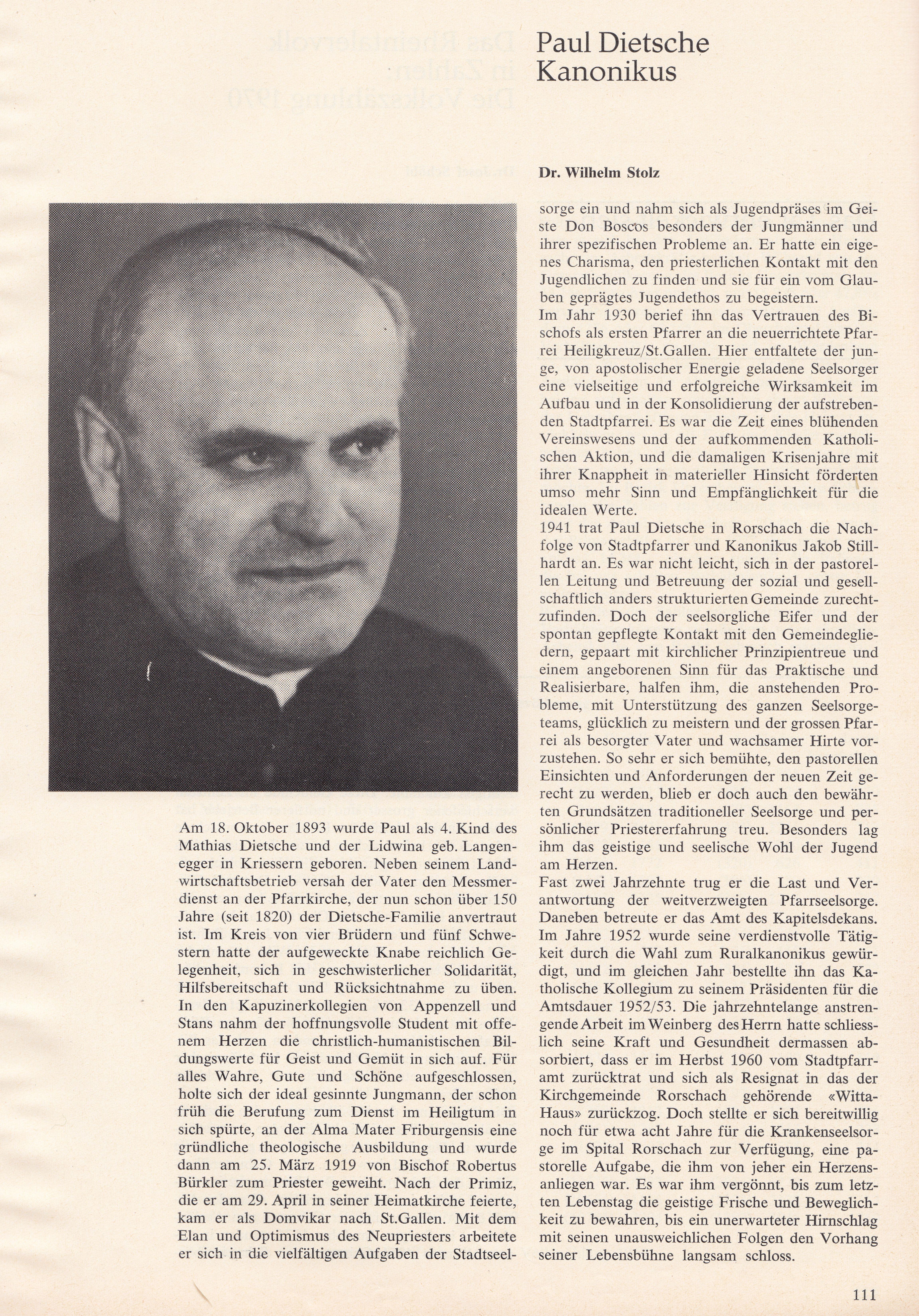 Paul Dietsche (1893-1972)
