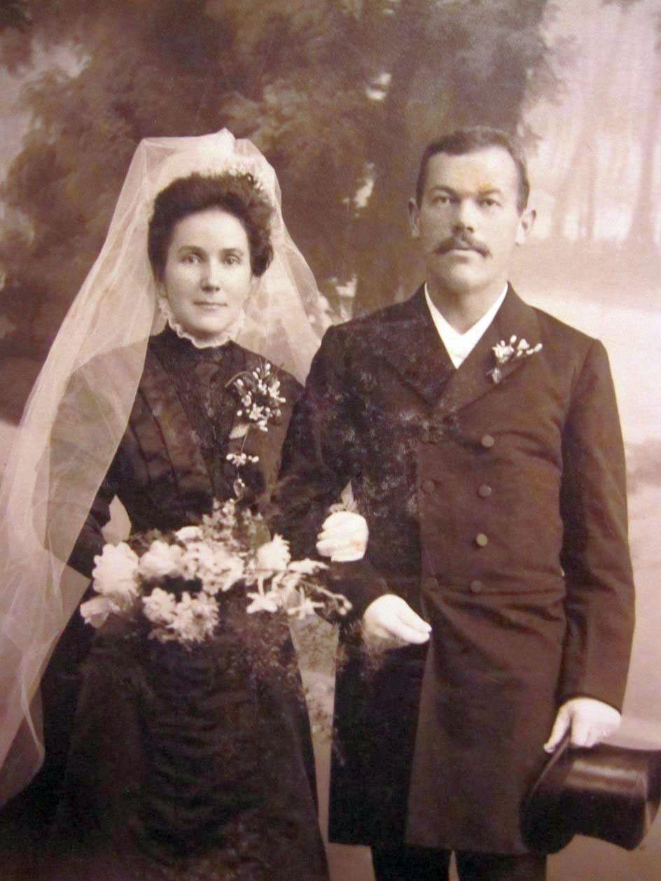 Samuel Henri Maeder und Anna Schupbach
