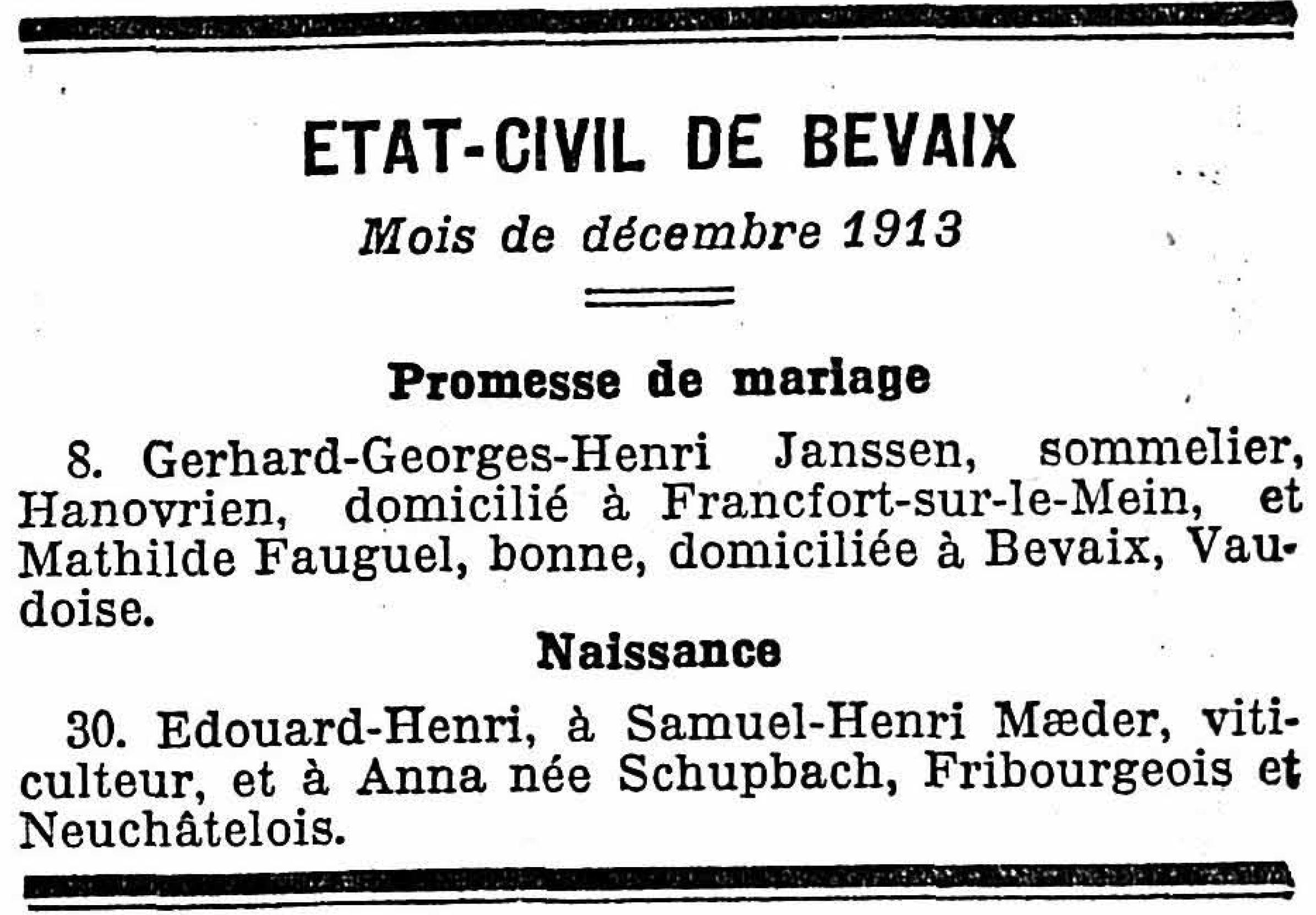 Edouard Henri Maeder