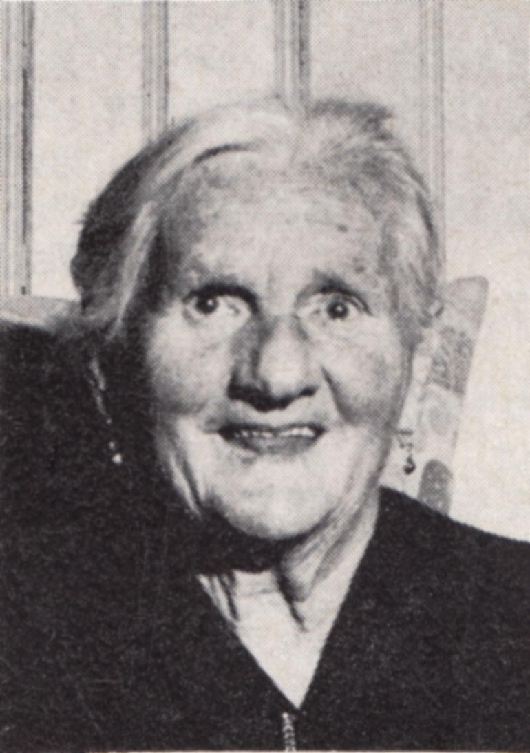 Katharina Maria Zünd (1893-1978)