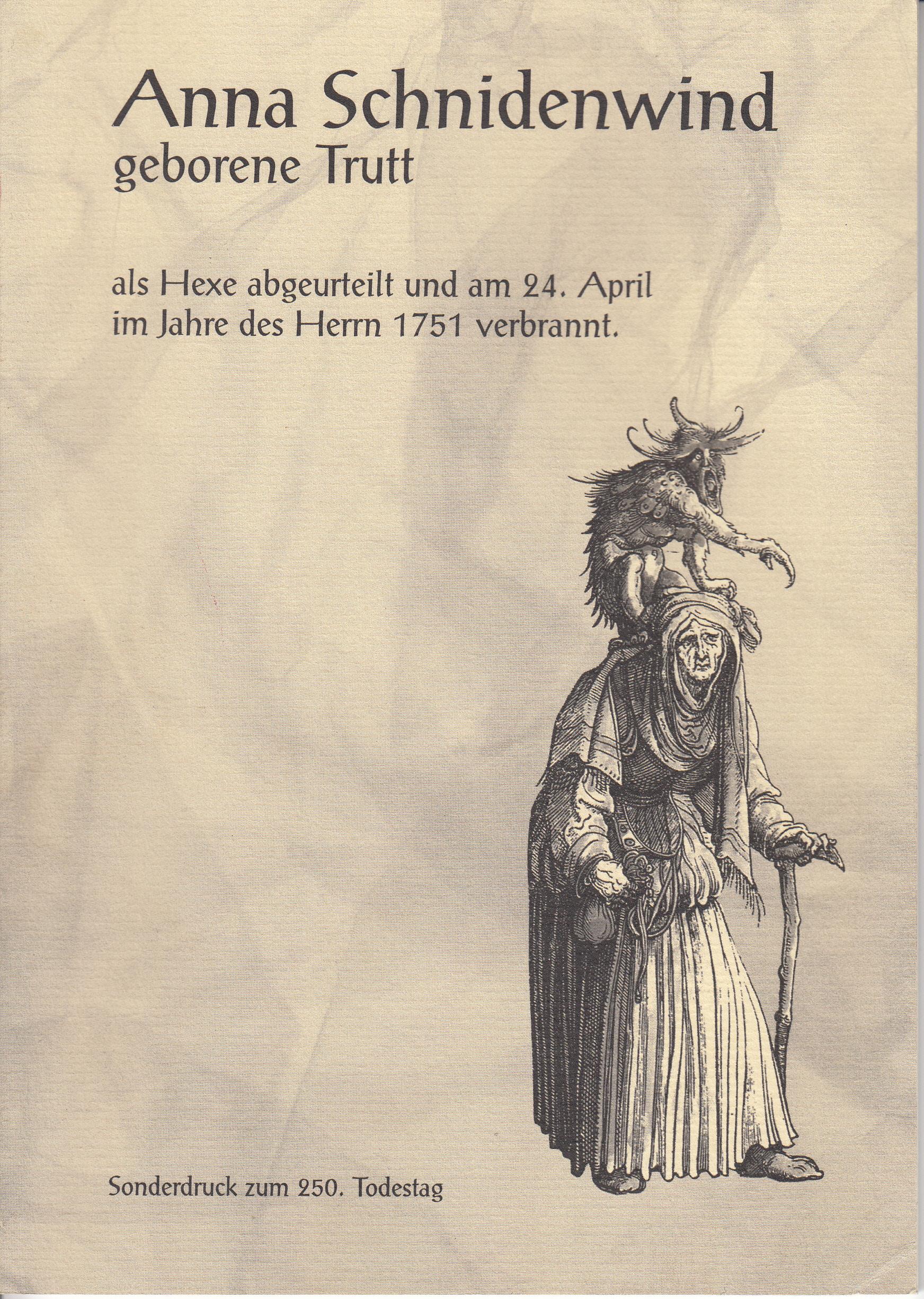 Anna Schnidenwind geborene Trutt (1688-1751)