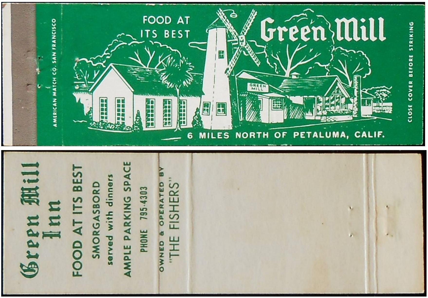 Green Mill Inn Zerfall