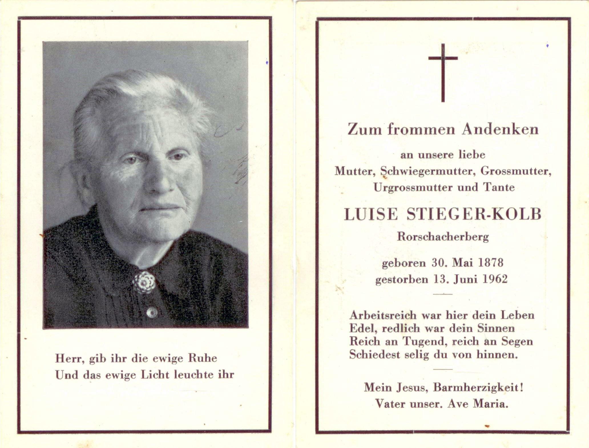 Luise Stieger-Kolb (1878-1962)