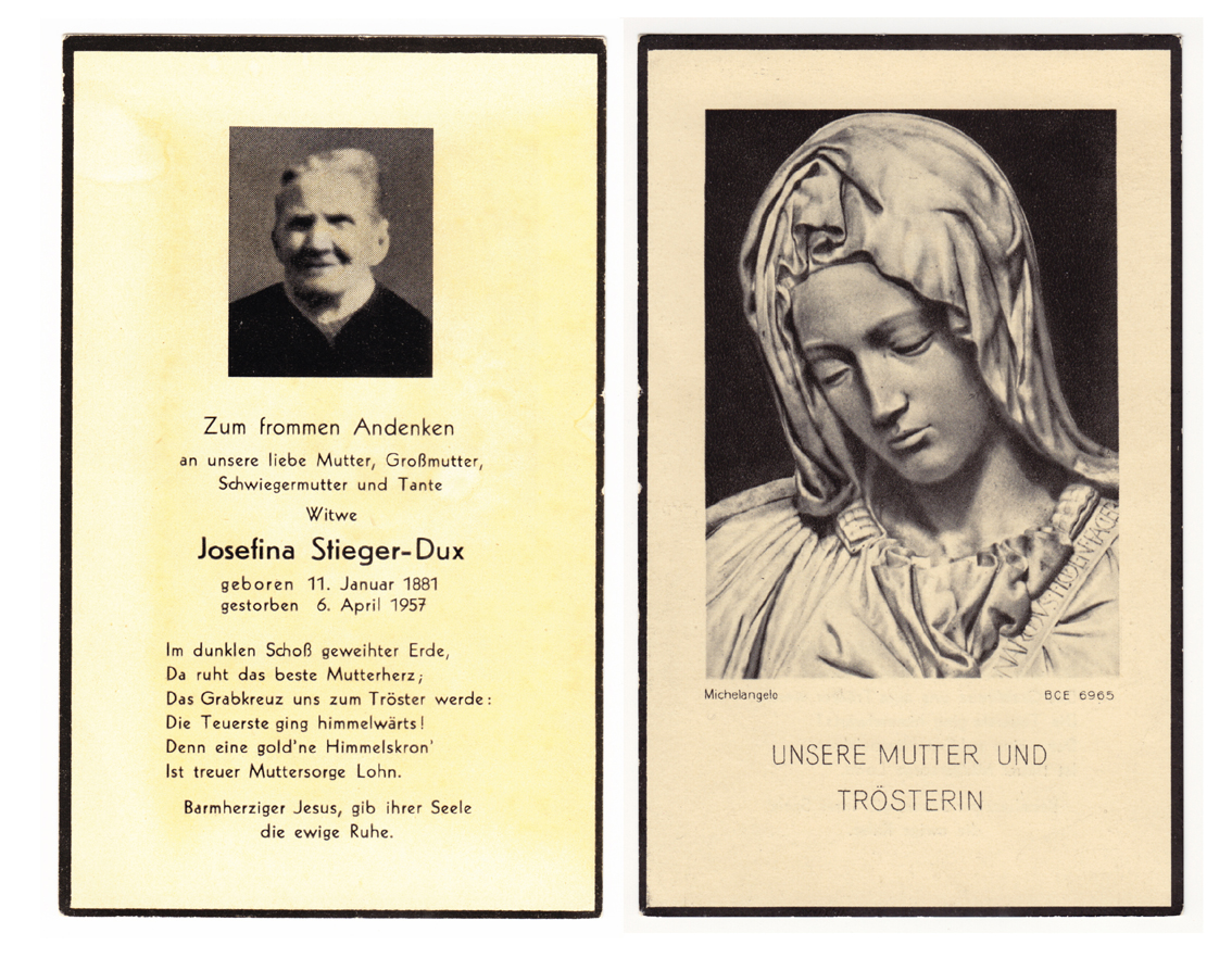Josefina Stieger-Dux (1881-1957)