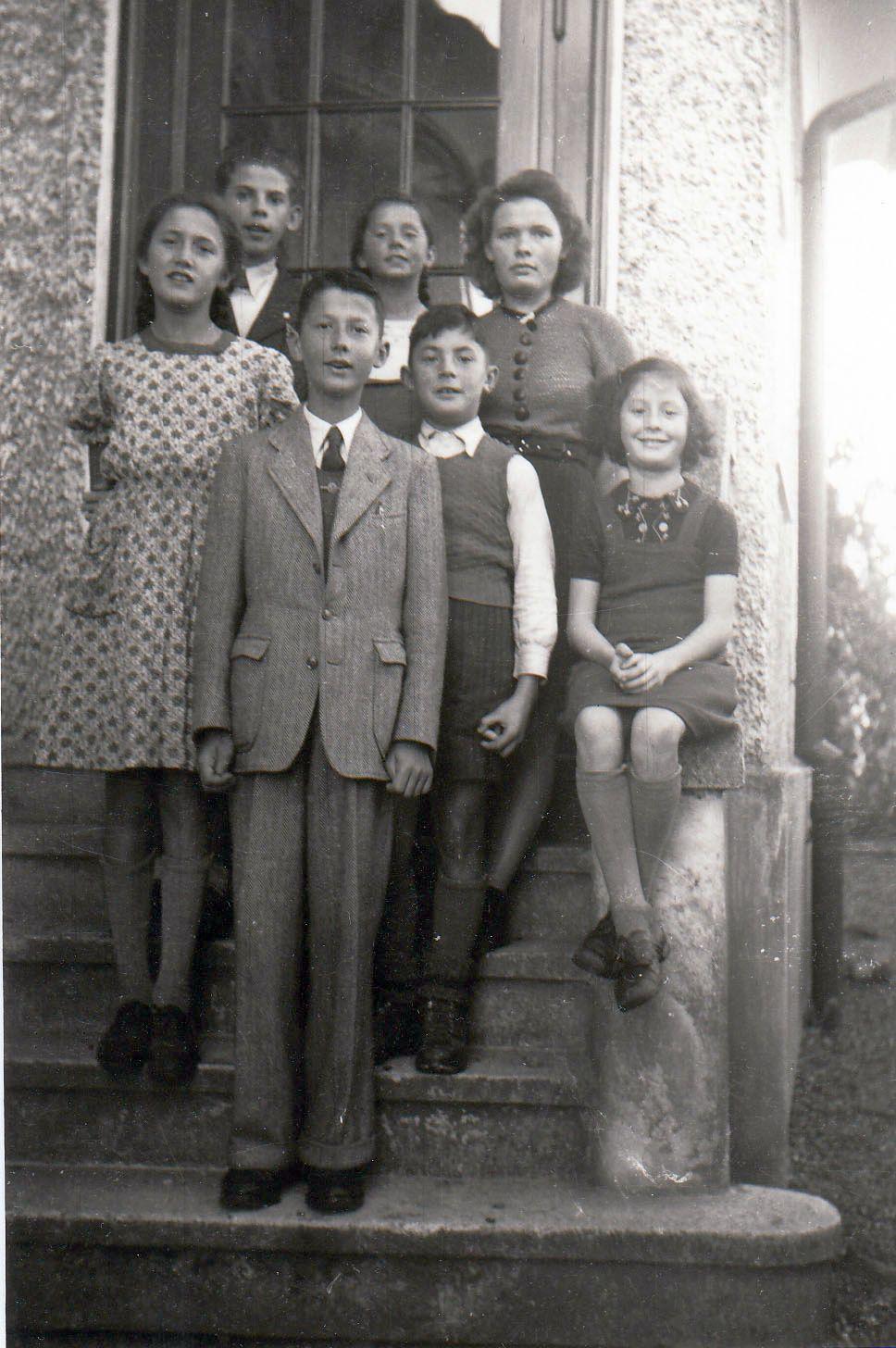 Kinder des Josef Fischer (etwa 1946)
