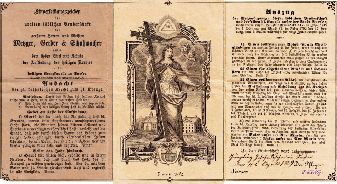Bruderschaft der Metzger, Gerber und Schuhmacher