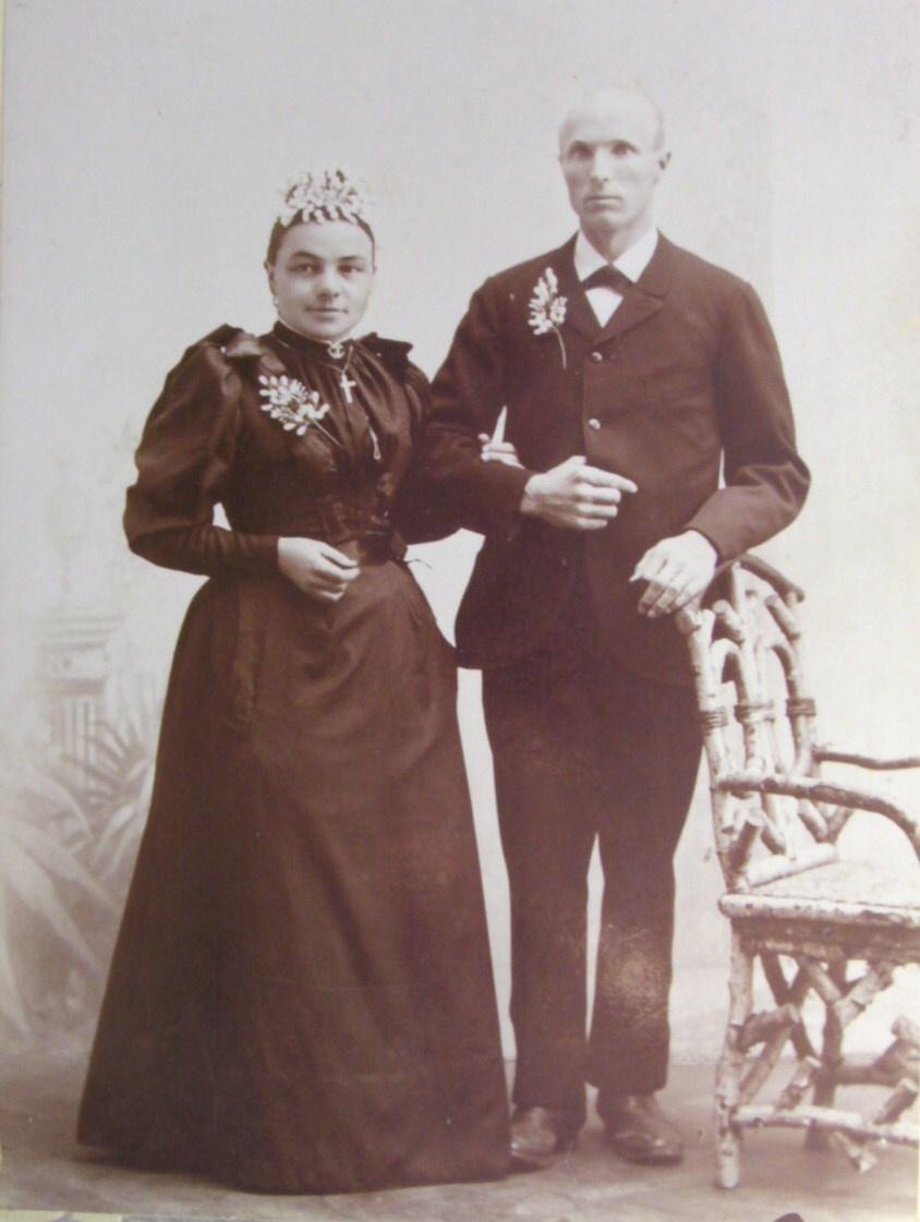 Adolf Stieger und Maria Bertha Göldi (Hochzeit)
