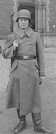 Rekrutenausbildung in Goslar um 1942