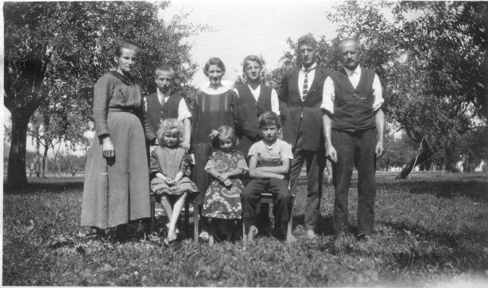 Johann Jakob Dux und Maria Regina Wüst 1925