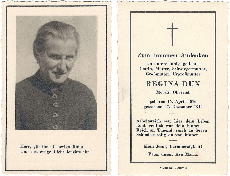 Regina Wüst-Dux (1876-1949)