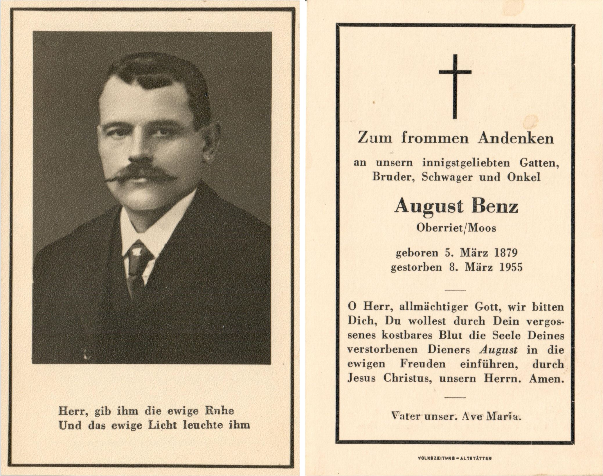August Benz (1879-1955)
