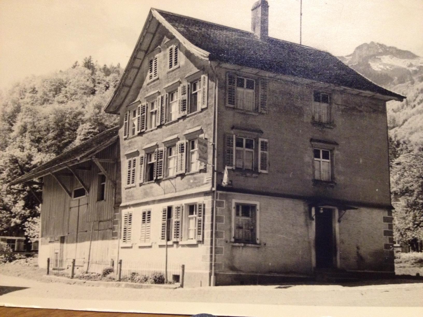 Haus von Theodor Schneider in Rüthi