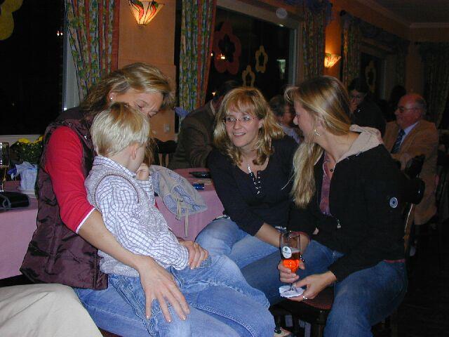 Susanne, Moritz, Anja, Petra
