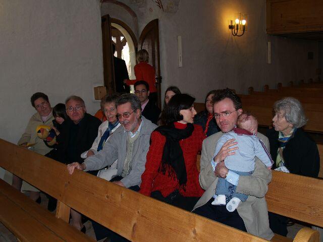 In der Kirche Seedorf